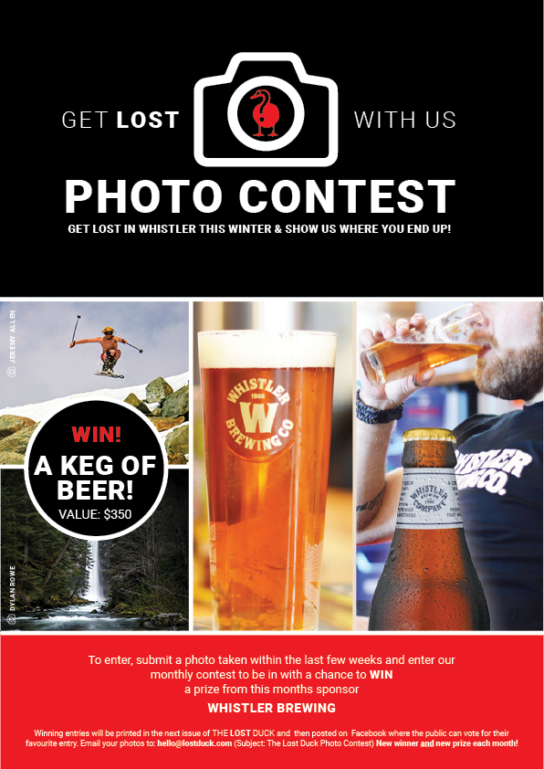 Whistler Brewing Contest