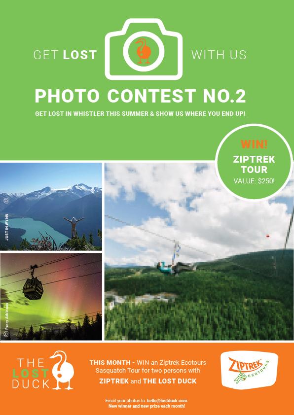 LostDuck_PhotoContest_Poster_Ziptrek